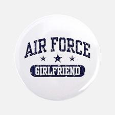 "Air Force Girlfriend 3.5"" Button"