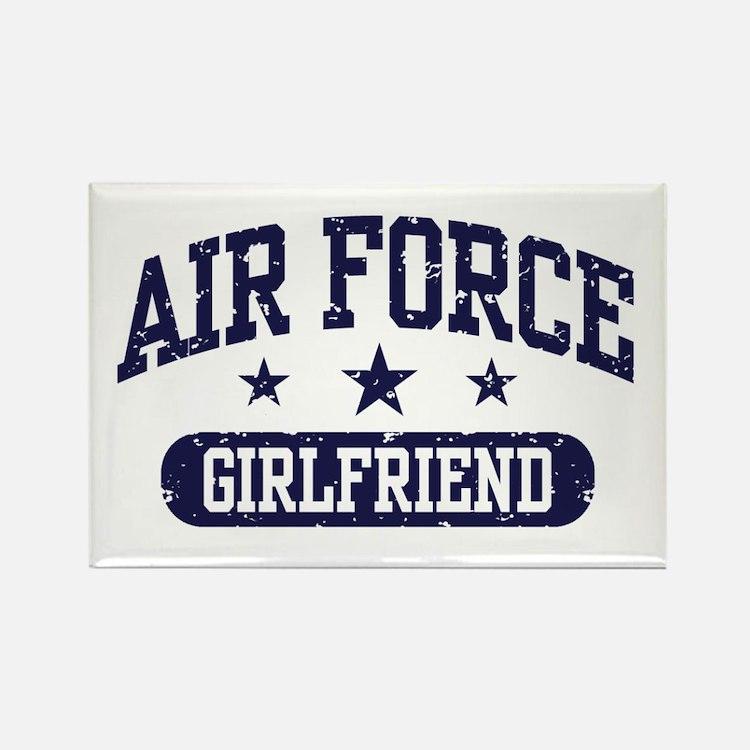 Air Force Girlfriend Rectangle Magnet