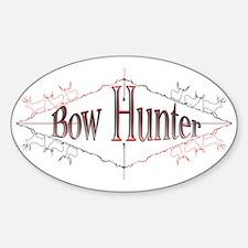 Bow Hunter Sticker (Oval)