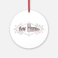 Bow Hunter Ornament (Round)