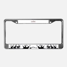 Bow Hunter License Plate Frame