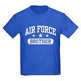 Airforce brother Kids T-shirts (Dark)
