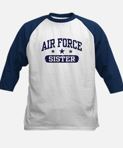 Air Force Sister Kids Baseball Jersey