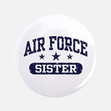 """Air Force Sister 3.5"""" Button"""