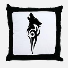 Funny Tribal Throw Pillow