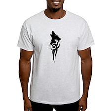Unique Howling wolf T-Shirt