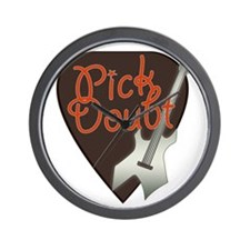 Pick Doubt Wall Clock