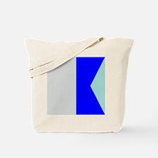signal flag #4 Tote Bag