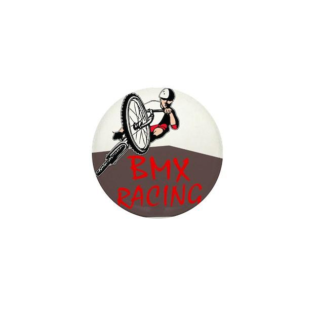 bmx racing mini button by redneckhunter. Black Bedroom Furniture Sets. Home Design Ideas