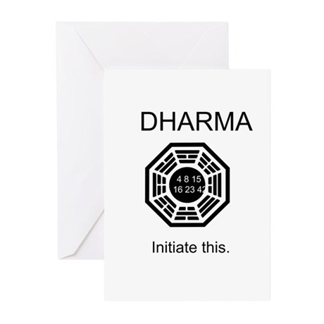 Dharma - Initiate This Greeting Cards (Pk of 10)