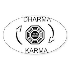 Dharma - Karma Decal