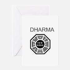 Dharma Logo Greeting Card