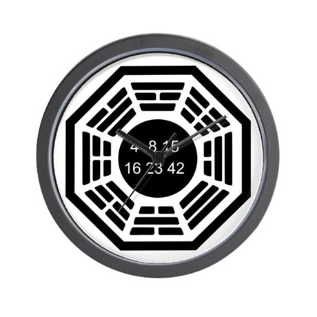 Dharma Logo Solo Wall Clock