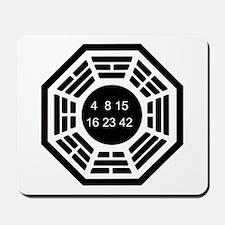 Dharma Logo Solo Mousepad