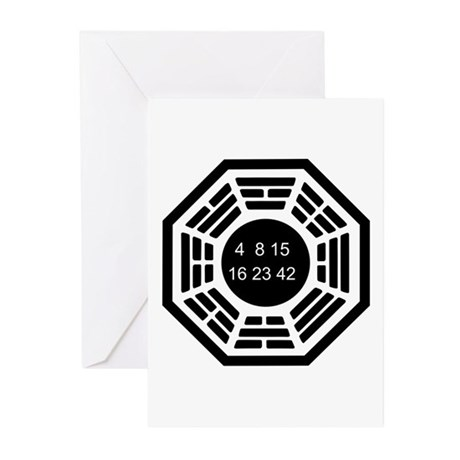 Dharma Logo Solo Greeting Cards (Pk of 10)