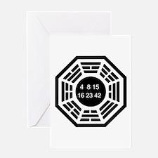 Dharma Logo Solo Greeting Card