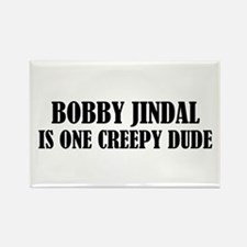Creepy Bobby Rectangle Magnet