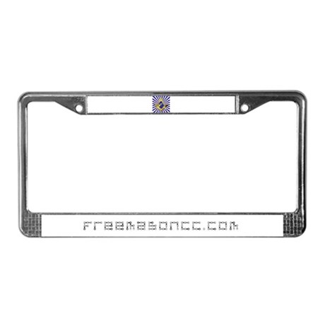 Freemason Cycling Club License Plate Frame