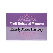 Well Behaved Rectangle Magnet (10 pack)