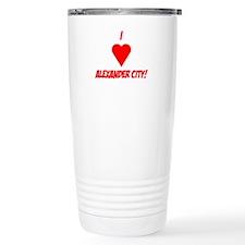 I Love Alexander City! Travel Mug