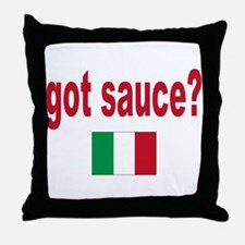 It ain't gravy it's sauce Throw Pillow