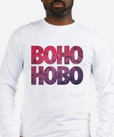 Boho Hobo Long Sleeve T-Shirt