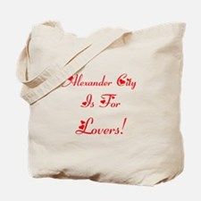 Alexander City Is For Lovers! Tote Bag