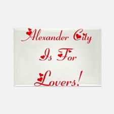 Alexander City Is For Lovers! Rectangle Magnet