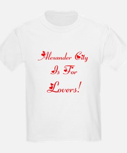 Alexander City Is For Lovers! T-Shirt