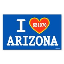 I Heart Arizona Decal