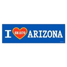 I Heart Arizona Bumper Sticker