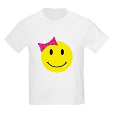 Girl Happy Face T-Shirt