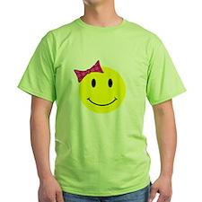 Girl Happy Face T-Shirt