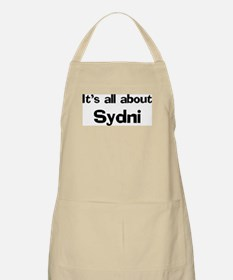 It's all about Sydni BBQ Apron