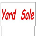 Yard Sale #4 Yard Sign