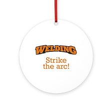 Welding / Arc Ornament (Round)
