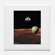 Fly Me to the Moon Tile Coaster