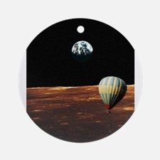Fly Me to the Moon Ornament (Round)