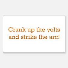 Volts! Sticker (Rectangle)