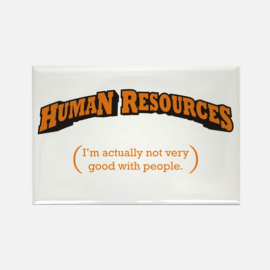 HR / People Rectangle Magnet (10 pack)