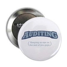"""Auditing - Eye 2.25"""" Button (10 pack)"""