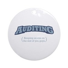 Auditing - Eye Ornament (Round)