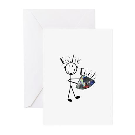 Cardiac Echo Tech Greeting Cards (Pk of 10)