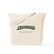 Auditing - Sleep Tote Bag