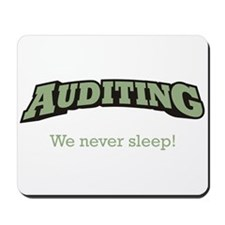 Auditing - Sleep Mousepad