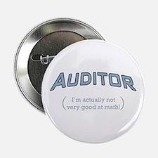 "Auditor - Math 2.25"" Button (10 pack)"