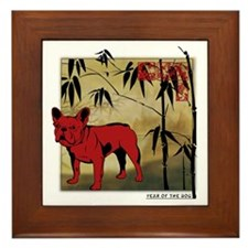 Chinese New Year! Framed Tile