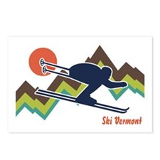 Ski Vermont Postcards (Package of 8)