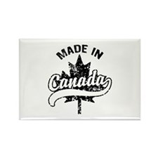 Made In Canada Rectangle Magnet