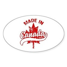 Made In Canada Decal